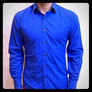 Blue Express dress shirt LIMITED EDITION